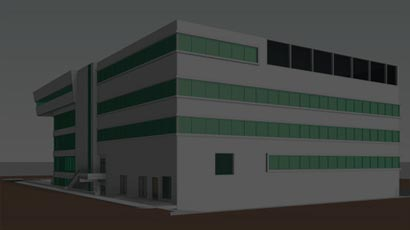 Creation of BIM Models with LOD 300 of National Eye Hospital Building in Egypt