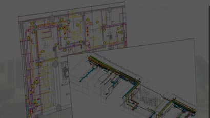 International Airport in Middle East gets clash free MEP fit out, basic 2D drawings transformed into 3D MEP BIM