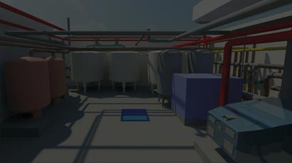 MEP BIM Modeling and Clash Detection for Plant Room at College Campus Building Based in Europe