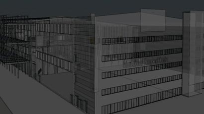 Point Cloud to BIM for an International Broadcast Centre in UK