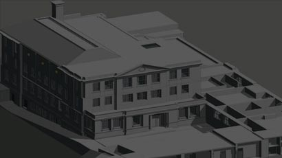Point Cloud To BIM For Educational Center BIM4DServices's VDC Capabilities Enable Effective Facility Management