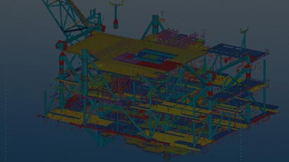 Steel Structure Detailing for Developing an Offshore Oil Platform in USA
